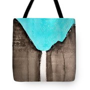 Bridalveil Fall Original Painting Sold Tote Bag