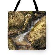 Bridal Veil Stream And Mossy Rocks - Heber Springs Arkansas Tote Bag
