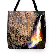 Bridalvail Falls Yosemite National Park Tote Bag