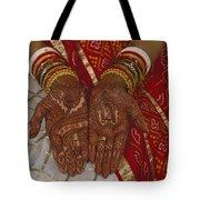 Brides Hands India Tote Bag