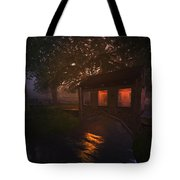 Brideshead Creek Bridge Tote Bag