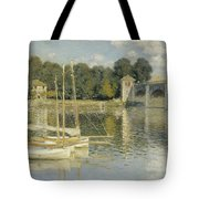 Bridge At Argenteuil Tote Bag