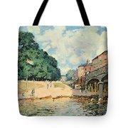 Bridge At Hampton Court Tote Bag