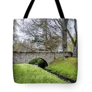 Bridge At Huntly Castle - 1 Tote Bag