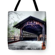 Bridge At Stone Mountain Tote Bag