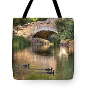 Bridge At Stow Lake Tote Bag