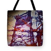 Bridge At Sunrise Tote Bag