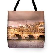 Bridge At Sunset Tote Bag
