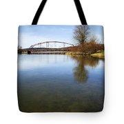 Bridge At Upper Lisle Tote Bag