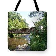 Bridge At Waubonsie Creek Tote Bag