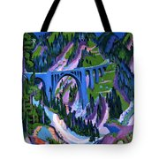 Bridge At Wiesen Tote Bag