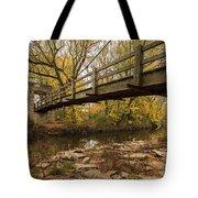 Bridge Between Seasons Tote Bag