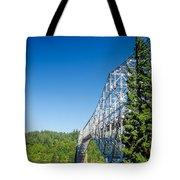 Bridge Connecting Oregon And Washington Tote Bag