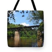 Bridge Crossing The Potomac River Tote Bag