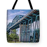 Bridge From The Park Tote Bag