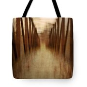 Bridge In Abstract Tote Bag