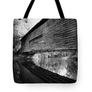 Bridge In Black And White Tote Bag