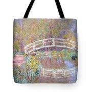 Bridge In Monet's Garden Tote Bag