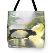 Bridge In Shadows Tote Bag