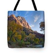 Bridge Mountain Tote Bag