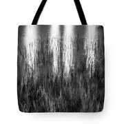 Bridge Of Lions Reflections St Augustine Florida Painted Bw   Tote Bag
