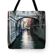Bridge Of Sighs Tote Bag