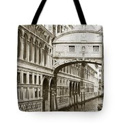 Bridge Of Sighs  Venice Italy Tote Bag