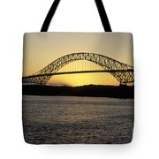 Bridge Of The Americas Panama Tote Bag