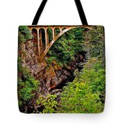 Bridge Over North Harbour River-nl Tote Bag