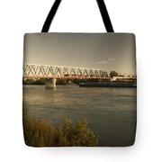 Bridge Over Rhein River Tote Bag