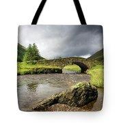 Bridge Over River, Scotland Tote Bag