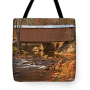 Bridge Over Smith River Tote Bag