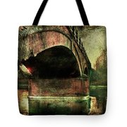 Bridge Over The Canal Tote Bag