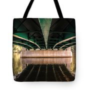 Bridge Over The Connecticut River Tote Bag