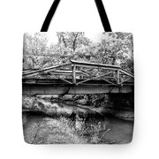 Bridge Over The Delaware Canal At Washington's Crossing Tote Bag