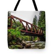 Bridge Over The Snoqualmie River - Washington Tote Bag