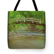 Bridge Over Valley Creek Tote Bag