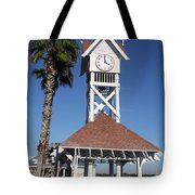 Bridge Street Pier And Clocktower  Tote Bag