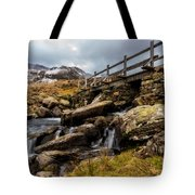 Bridge To Idwal Tote Bag