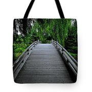 Bridge To Japanese Serenity Tote Bag