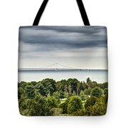 Bridge To Mackinac Tote Bag