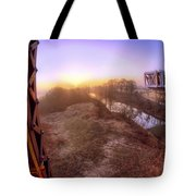 Bridge To The 21st Century - Clinton Presidential Library - Arkansas - Little Rock Tote Bag