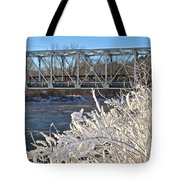 Bridge To Winter Tote Bag