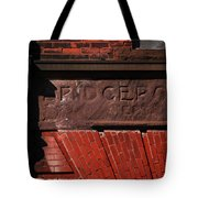 Bridgeport In Stone Tote Bag