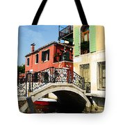 Bridges Of Venice Tote Bag