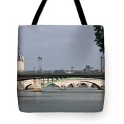 Bridges Over The Seine And Conciergerie - Paris Tote Bag