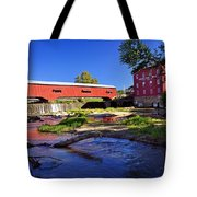 Bridgeton Covered Bridge 4 Tote Bag
