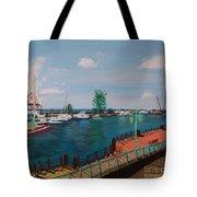 Bridgetown Boardwalk Tote Bag