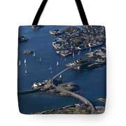 Bridging The Ocean Tote Bag