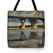 Bridging Vermont And New York Tote Bag